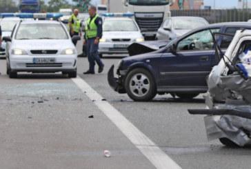 Тежкакатастрофа на пътя Пазарджик – Пловдив