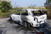 Смразяваща гледка! Козар се натъкна на овъглено тяло до опожарен автомобил