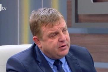 Красимир Каракачанов: Ставам, сдавам и се уволнявам