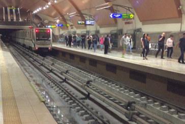 Прегазена жена в метрото спря влаковете