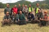 Брежанските ловци стартираха сезона с тройна слука, шефът К. Кипров повали най-големия нерез