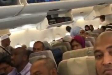 Поставиха самолет под карантина заради болни пътници