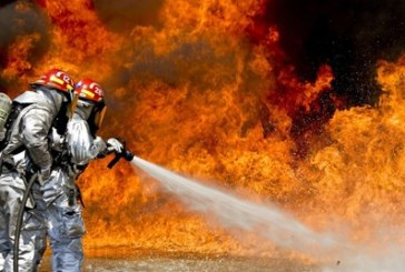 Лумна пожар, мъж скочи от третия етаж на сградата