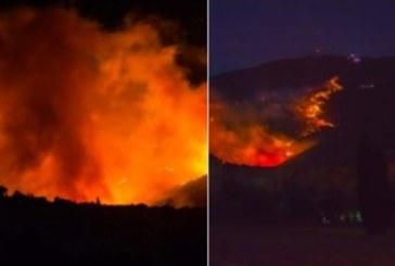 Голям горски пожар бушува край Пиза, евакуираха стотици