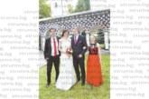 Двойна радост! На сватбата на сестра си, миг преди тя да хвърли булчинския букет, петричанин поиска ръката на любимата си