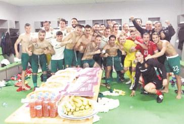 Гол купон с пици на 8-те национали от Пиринско след победата срещу Словения