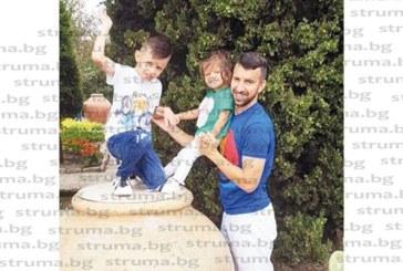Св. Дяков разнообрази дните преди тежкия футболен сезон със семейна разходка в ботаническата градина в Балчик