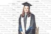 Дъщерята на известната лекарска фамилия в Петрич Дуевски – Снежина, с магистърска диплома от University College London