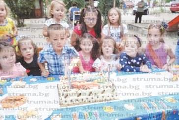 Чуден рожден ден с бабини вкусотии организира за синчето си семейство Топалски от Благоевград