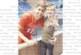 Светльо Дяков със сина си подкрепиха от трибуните волейболистите ни срещу Куба