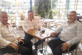 На чаша кафе в Дупница шефовете на дупнишкия и санданския минипарламент обмениха опит и начертаха нови тактики