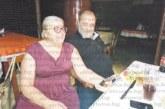 Финансистът Георги Ребреев от Сандански и съпругата му д-р Юлия Булакиева-Ребреева /на снимката/ почерпиха за първородна внучка