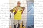 Рекорден за своята риболовна кариера шаран улови на Бутковското езеро ексшефът на музея в Сандански Вл. Петков