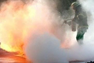 Огнен ужас! Микробус пламна в Петричко