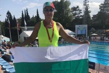 """Плувкиня на """"GD Sport"""" четири пъти в Топ 5 на европейското за ветерани в Словения"""