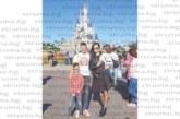 """Футболистът Св. Дяков заведе семейството си на приключение в парижкия """"Дисниленд"""""""