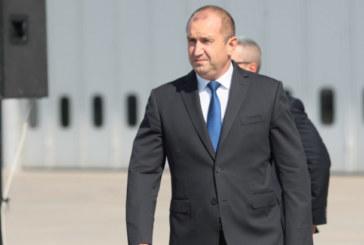 Президентът Радев за първи път проговори за убийството на Виктория Маринова