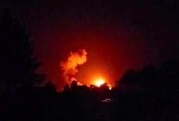 Адски взрив във военен склад в Украйна, евакуират хиляди хора