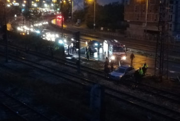 Заваля дъжд и стана страшно! Поредица от тежки катастрофи в София