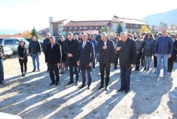 Първа копка за изграждане на подпорни стени на р. Глазне бе направена в Банско