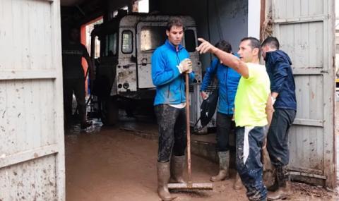 Надал помогна на бедстващите в Майорка