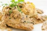Пилешки пържоли в гювеч