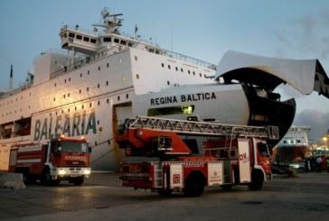 Мощна експлозия на ферибот с 330 пътници на борда