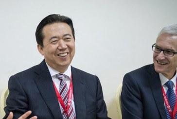 Китайски медии: Шефът на Интерпол е отведен за разпит