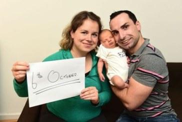 Българско бебе стана сензация с рождената си дата