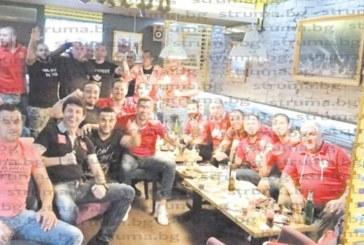 На обща трапеза армейците от Петрич и Сандански отпразнуваха завръщането на емблемата на ЦСКА