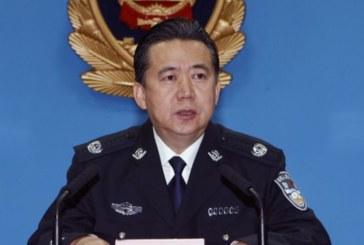 Интерпол поиска информация от Китай за шефа си