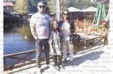 """Старшията на """"Банско"""" Д. Крушовски изненада дъщеря си и съпругата си с почивка в Македония"""