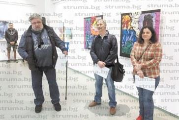 Наградиха благоевградски художници за празника им, с по 500 лв. общината откупи  творбите на трима за фонда на галерията