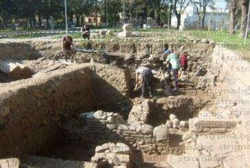 Бронзови монети, антична улица и уникална крепостна стена откриха кюстендилски археолози