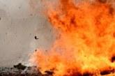 Огнени инциденти в Югозапада! Кола изгоря като факла, пламна селскостопанска сграда