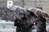 Опасно време: Сняг и бурен вятър в страната
