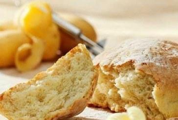 Картофен хляб със сметана