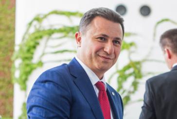 Издадоха заповед за арест на Никола Груевски, полицията претърсва дома му