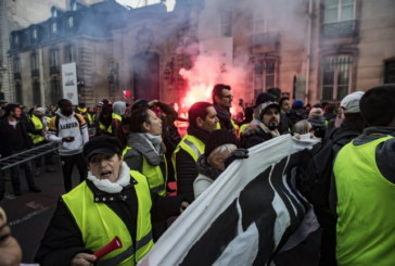 """Протестите на """"Жълтите жилетки"""" във Франция засегнаха и съседните държави"""
