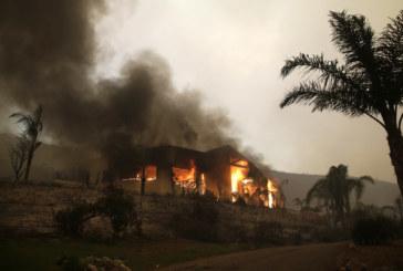 Огнената стихия в Калифорния се разраства, жертвите вече са 9