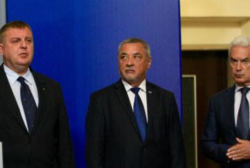 Напрежение между патриотите! Сидеров поиска оставката и на Каракачанов