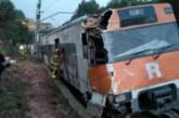Влак излезе от релсите край Барселона, има загинал
