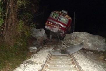 8 ранени при дерайлирането на влака в Кресненското дефиле