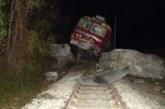 МВР с първа информация за инцидента с дерайлиралия влак в Кресненското дефиле