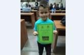 Малчуган от Сапарева баня мести фигурите от 4-годишен, родителите и треньорът С. Пешев го виждат като голям шахматист в бъдеще