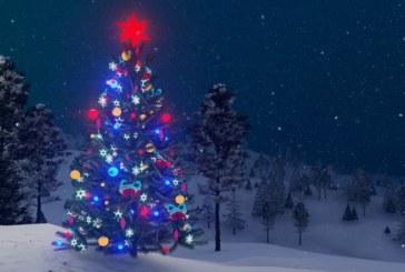 Коледните светлини в Банско грейват на Никулден