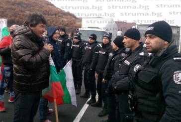 Държавата хвърли 850 полицаи срещу протестиращите днес