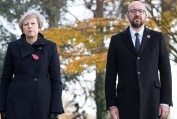 Катастрофа пред кортежа на премиерите на Белгия и Великобритания