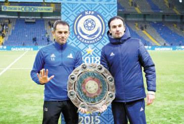 """Юноша на """"Пирин"""" /ГД/ стана шампион на Казахстан за пета поредна година"""