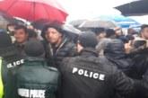 Сблъсък между жандармерияи протестиращи на Кулата